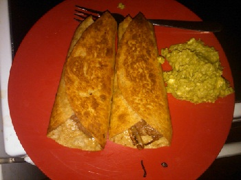 fibre foods - high fibre diet - lunch - whole grain bean burrito