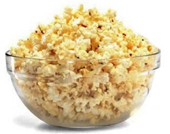 popcorn - insoluble fibre foods