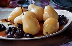 prunes and pears - soluble fibre foods